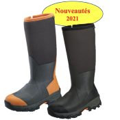 BOTTES GATEWAY WOODBEATER 18'' NÉOPRÈNE 7mm Side-Zip 400g 3M THINSULATE