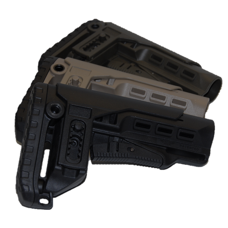 CROSSE TÉLESCOPIQUE TBS TACTICAL PCP MIL SPEC - DLG TACTICAL