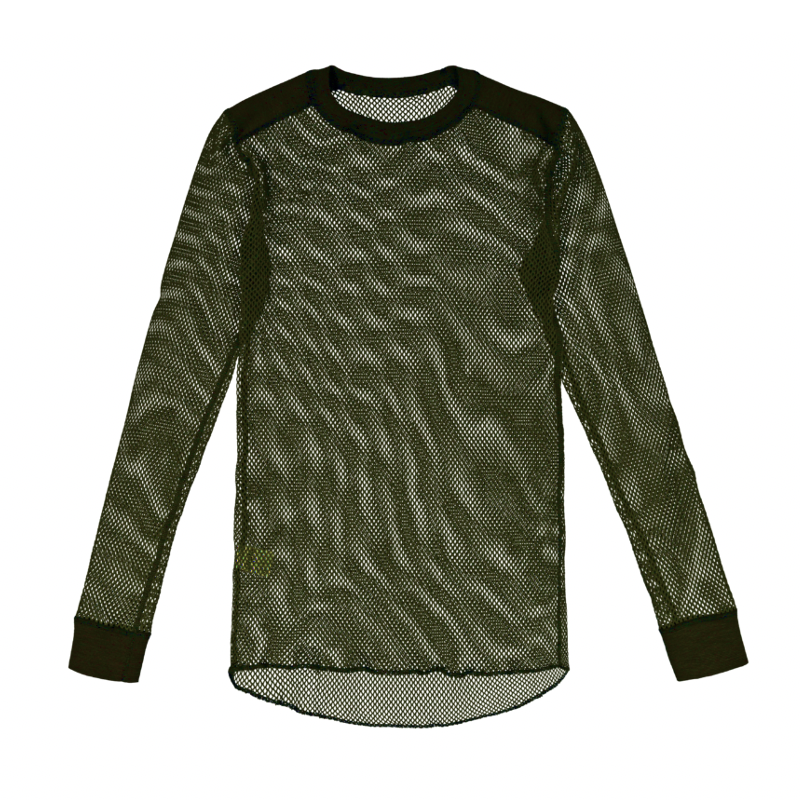 TEE-SHIRT SVALA COLLECTION THERMAL MESH MANCHES LONGUES COL ROND