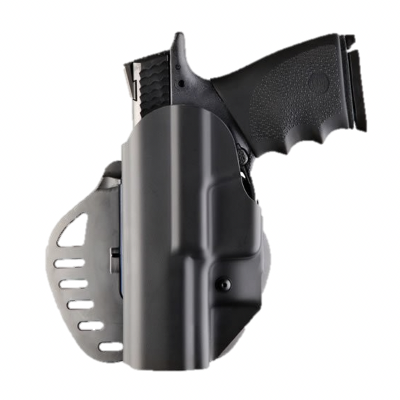 HOLSTER ARS STAGE 1 - PISTOLET SMITH & WESSON M&P 9mm,  40 S&W, 357 SIG - GAUCHER - HOGUE